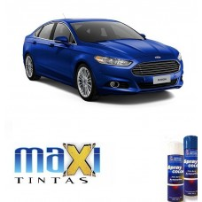 Spray Automotivo Azul Carmel + Verniz Spray 300ml